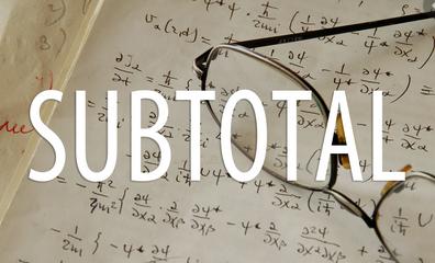 フィルターを絡ませた集計は、subtotal関数が便利すぎ!